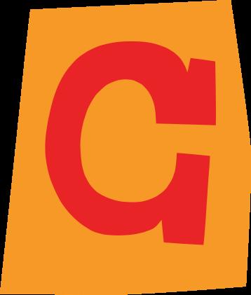 default gefeliciteerd letter c