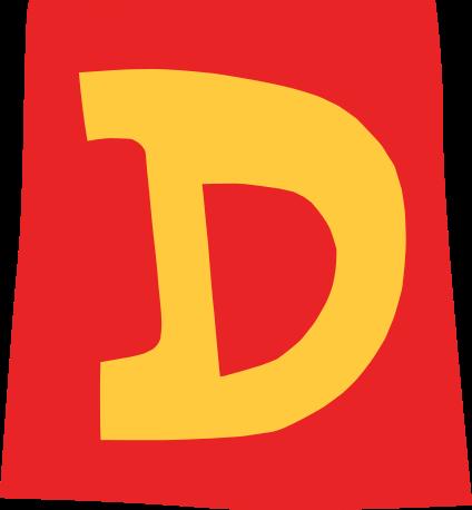 default gefeliciteerd letter d