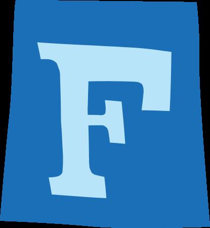 default gefeliciteerd letter f