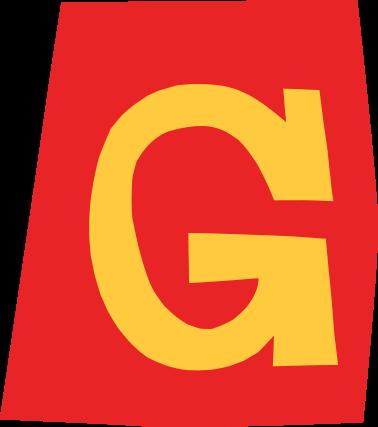 default gefeliciteerd letter g