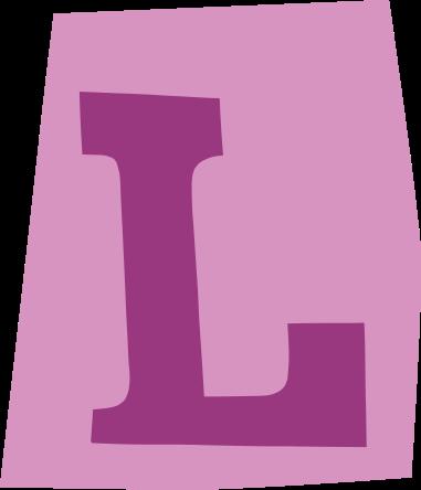 default gefeliciteerd letter l