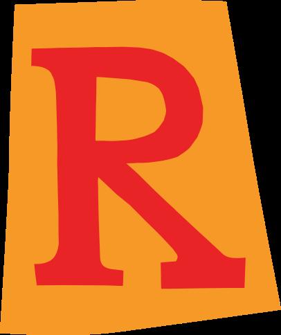 default gefeliciteerd letter r