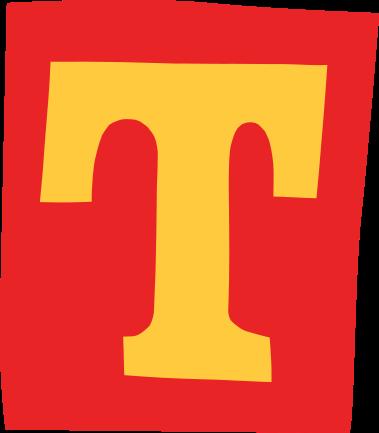default gefeliciteerd letter t