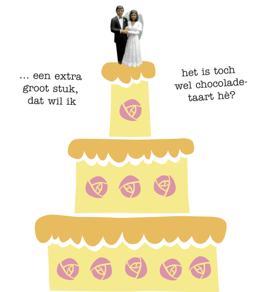 default trouwen