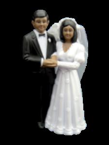 default trouwen bruidspaar