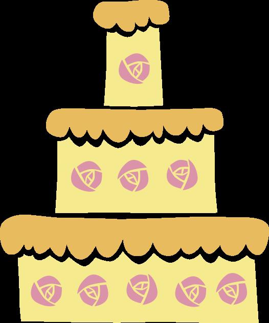 default trouwen taart
