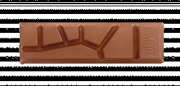 chocolat au lait caramel et sel de mer