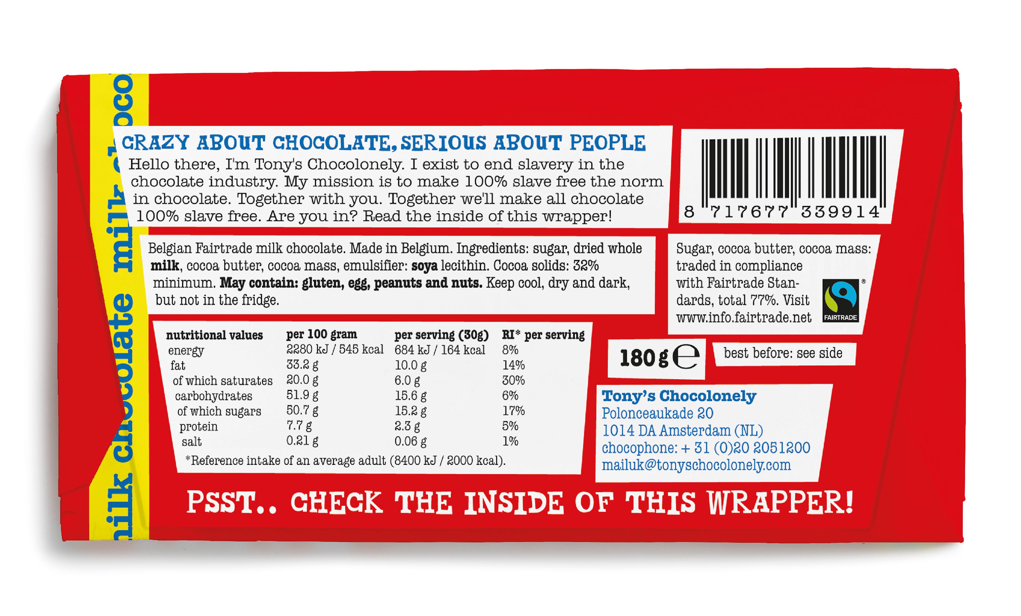 milk chocolate 32%