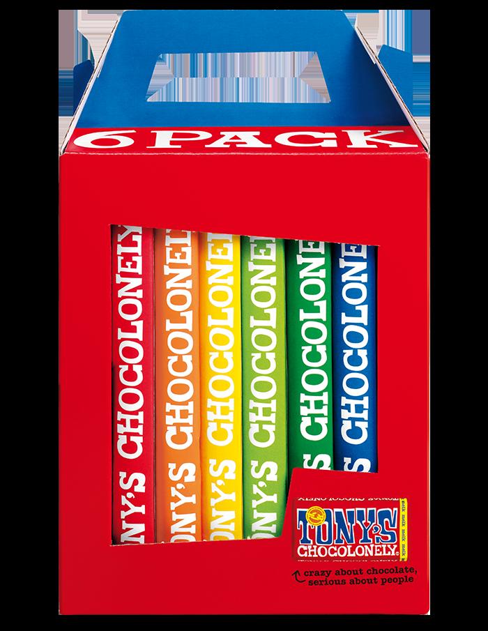rainbow 6 pack