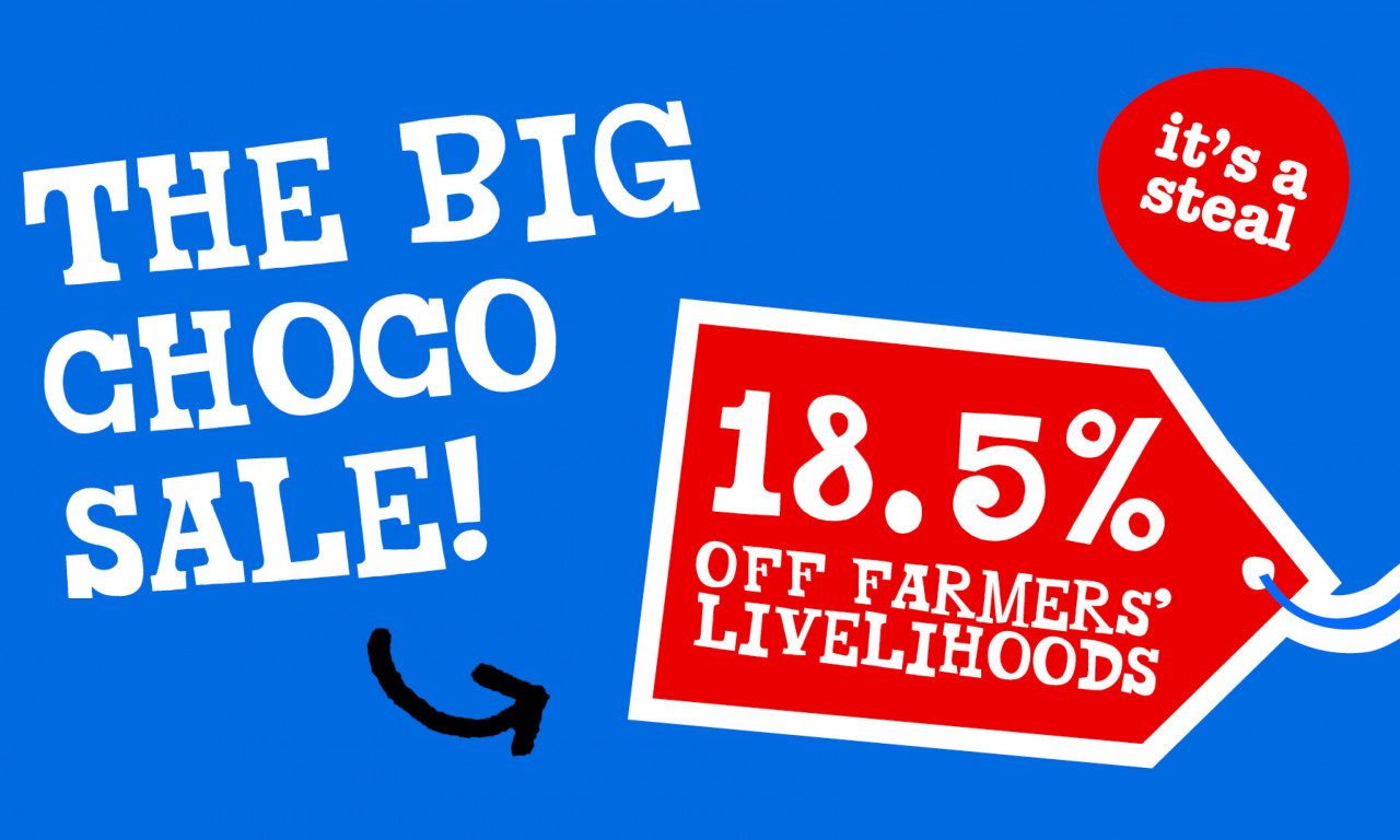 Big Choco Sale: It's a steal!