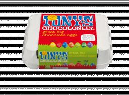 great big chocolate eggs