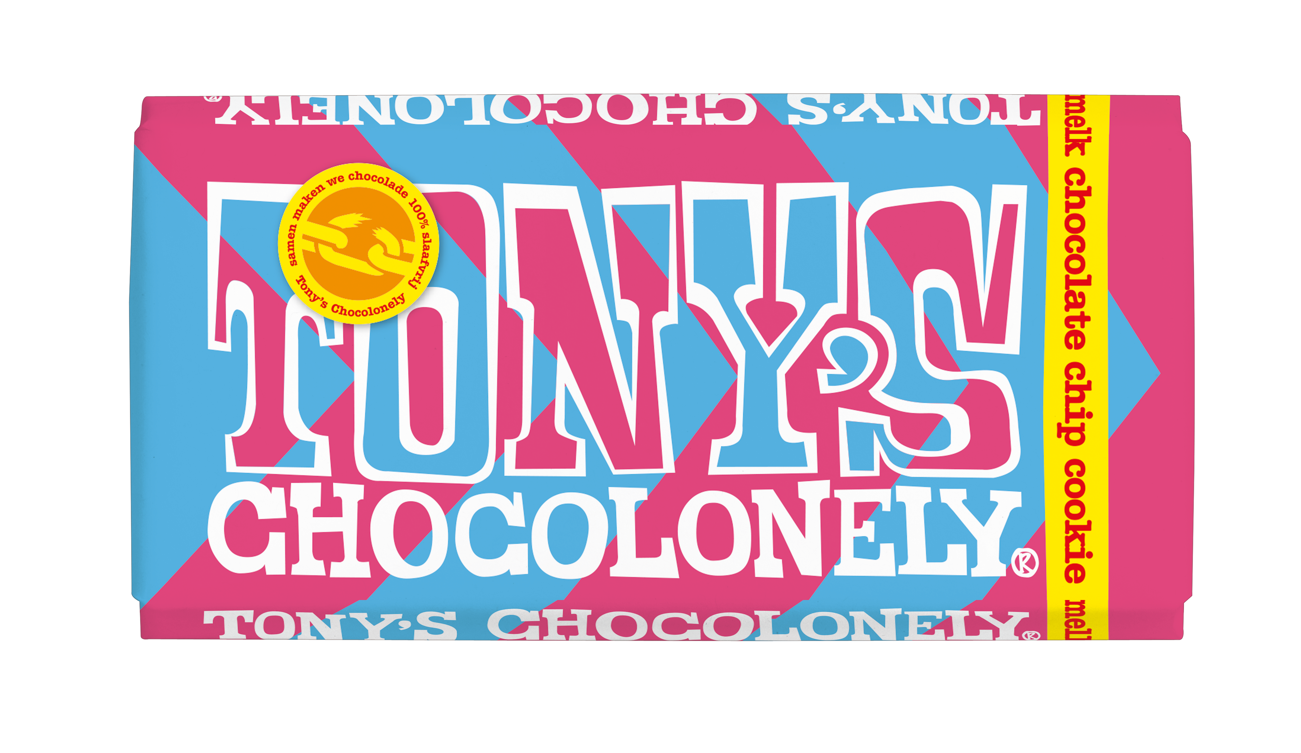 NIEUW melk chocolate chip cookie
