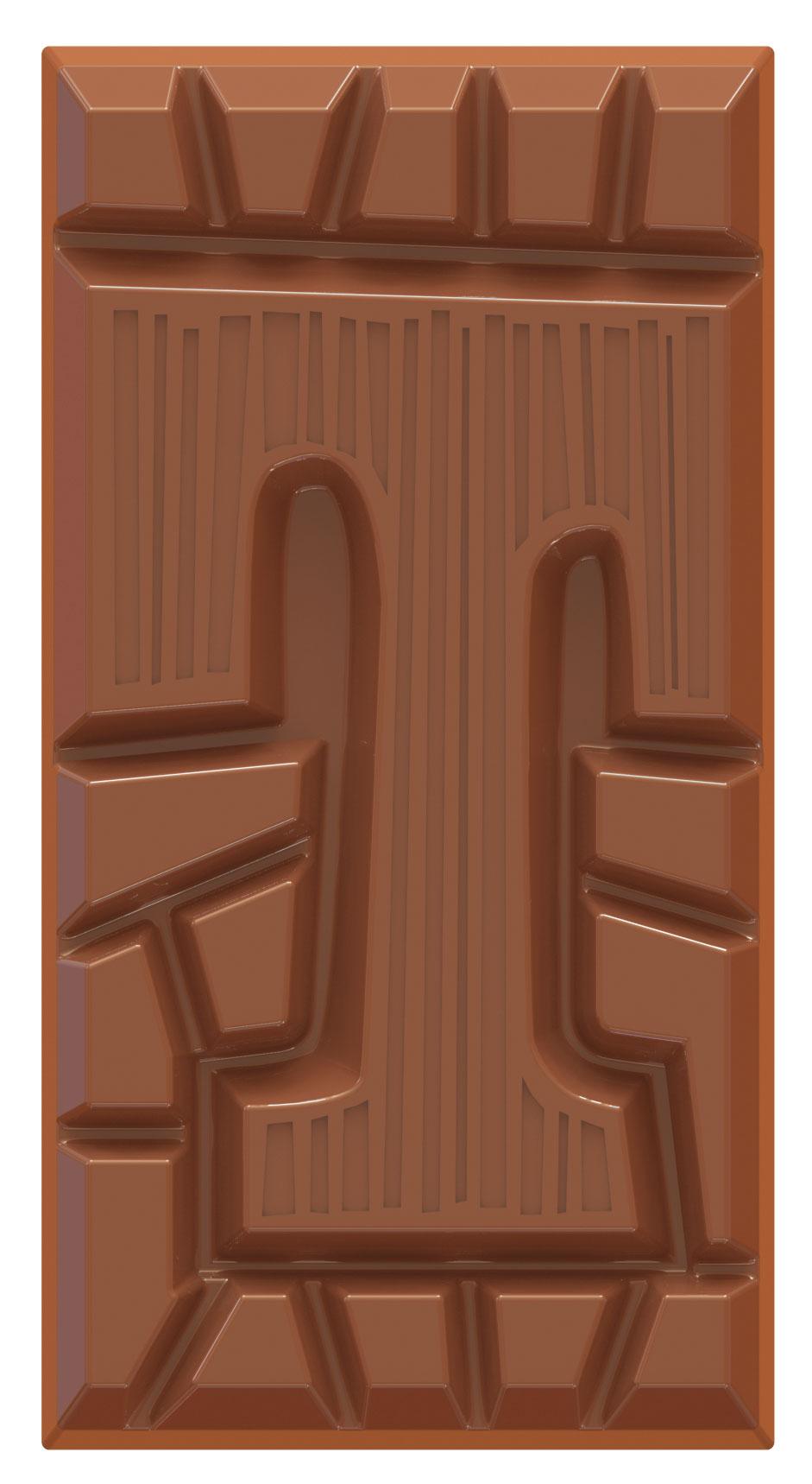 chocolate letter bar milk T