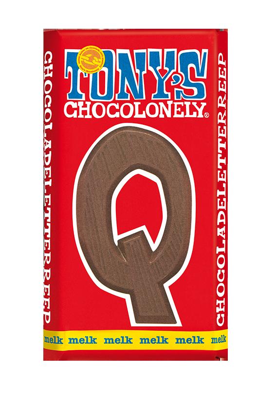 chocolate letter bar milk Q