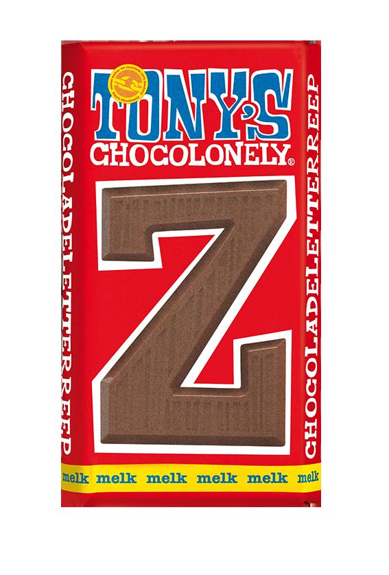 chocoladeletter reep melk Z