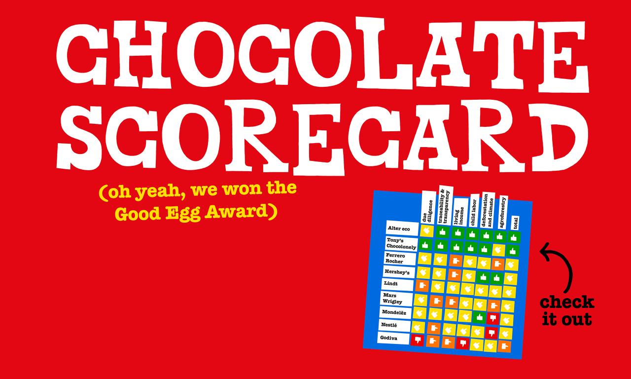 The Good Egg Easter Choco Scorecard