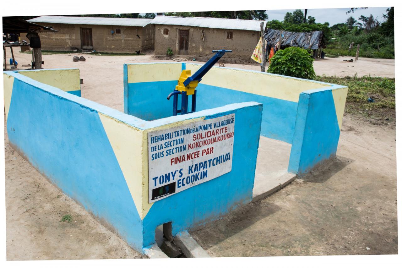 waterpompen in de communities