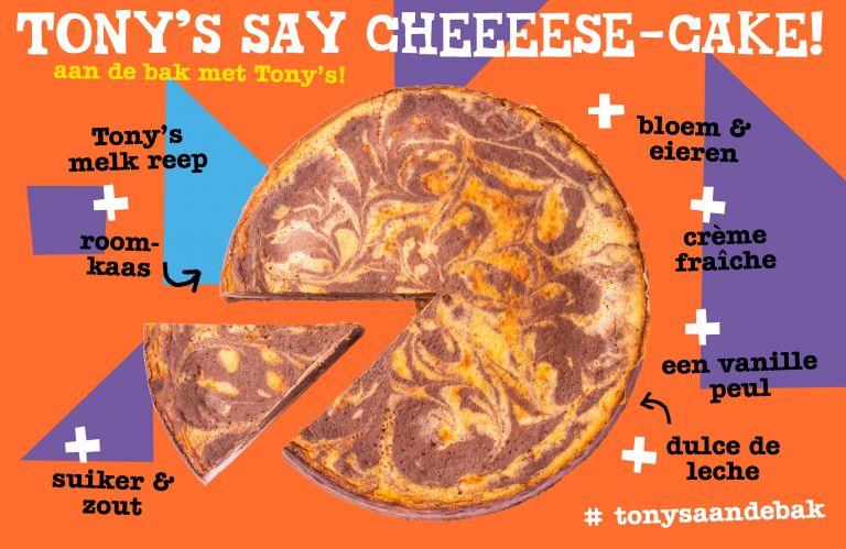 Tony's aan de bak: Say Cheeeese-cake