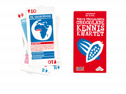 Tony's Chocolonely Chocolade Kennis Kwartet