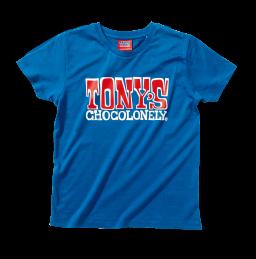 Kids t-shirt blauw