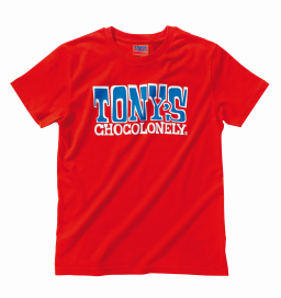 Kids t-shirt rood