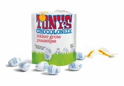 easter eggs white chocolate
