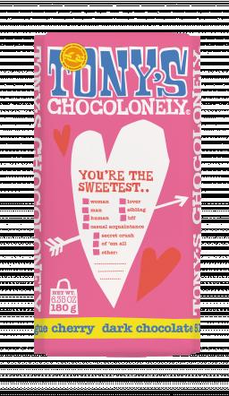 dark chocolate 51% meringue cherry