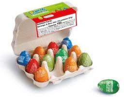 Easter eggs assortment, 12 x 13gr FT, 1 CE