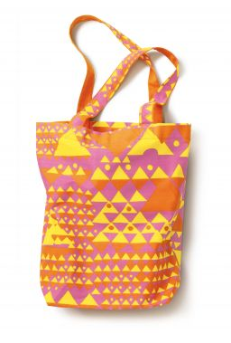 Limited Edition Tote Set Pink/Yellow
