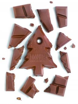 milk chocolate with mulled wine